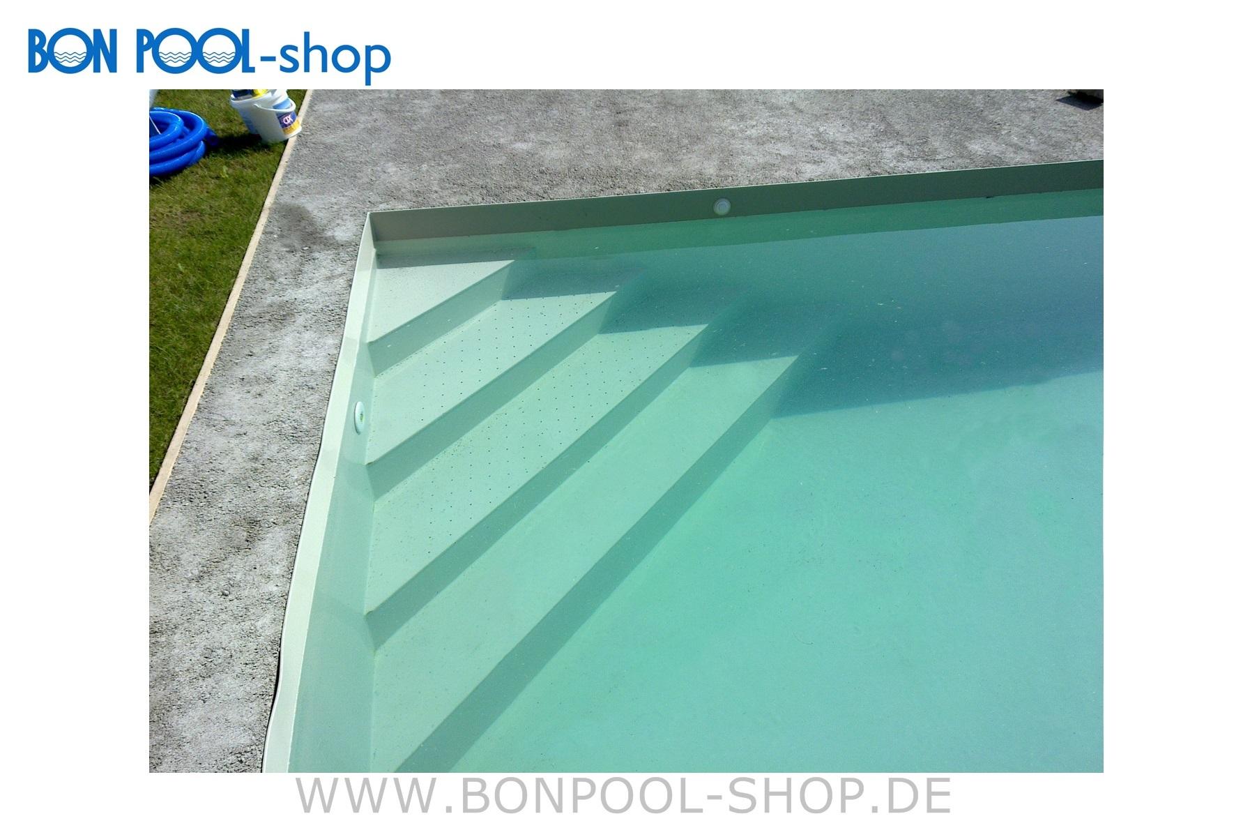 pp kunststoff rechteckbecken set 9x4x1 5m bon pool. Black Bedroom Furniture Sets. Home Design Ideas