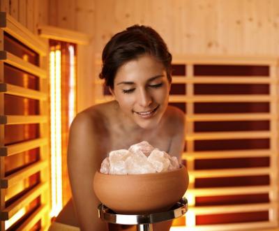 Sole-Aqua Premium  Saunaofen Verdampfer Rot  BONPOOL