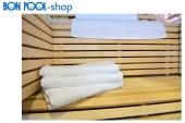 4er SET Hotelhandtuch 50x100 cm weiß BON POOL