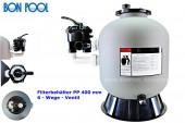 BON POOL Filterbehälter HDPE 400 mm