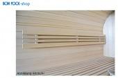 BON POOL Sauna Rückenlehne Abachi 80 x 20 cm
