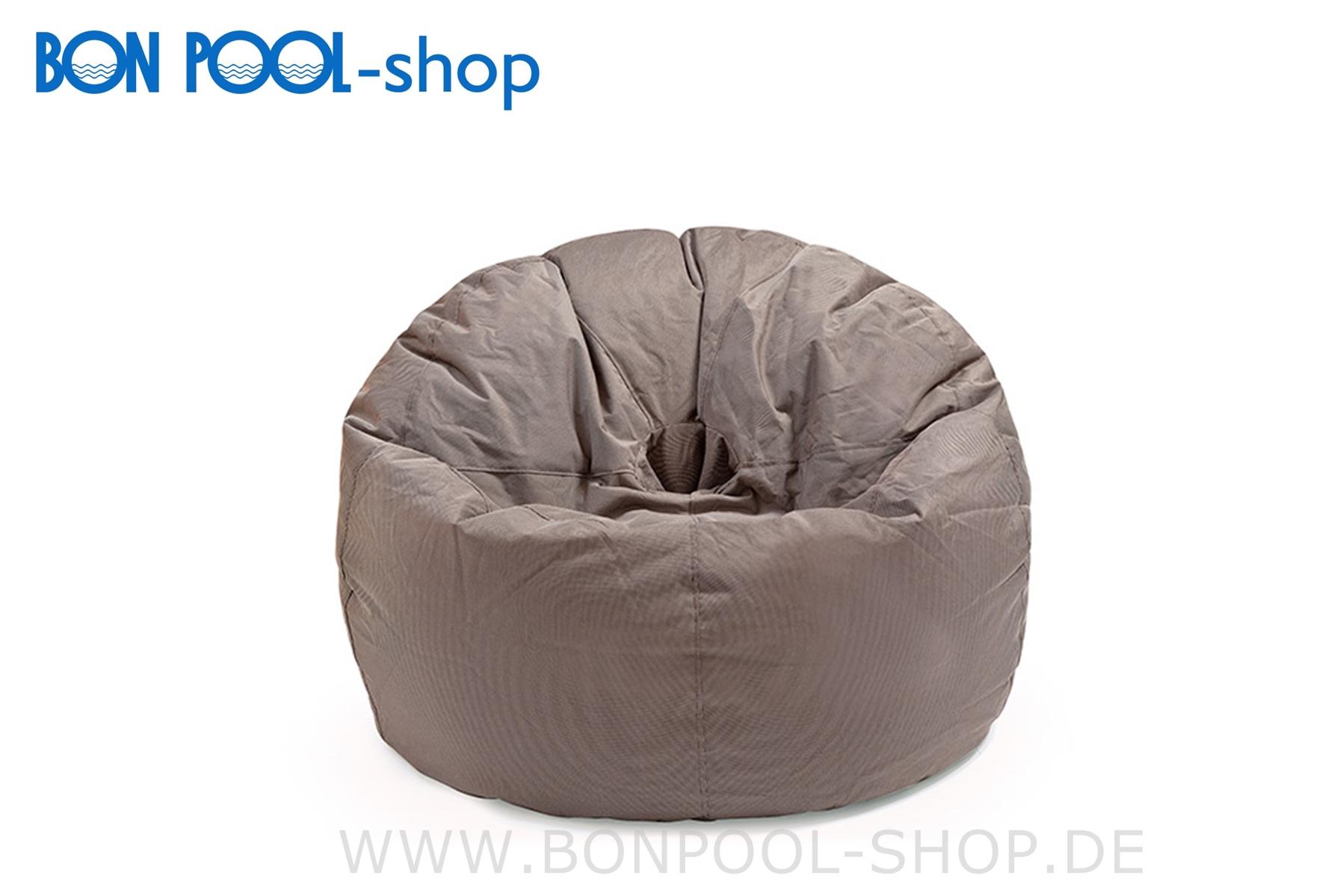 outbag donut cappuccino sitzsack garten bon pool. Black Bedroom Furniture Sets. Home Design Ideas