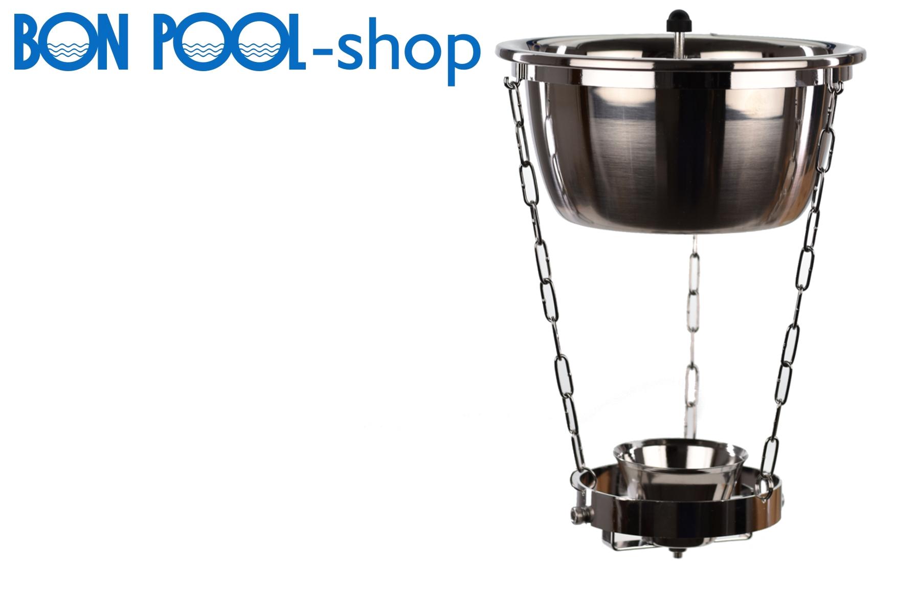 aquadropper aus edelstahl bon pool. Black Bedroom Furniture Sets. Home Design Ideas