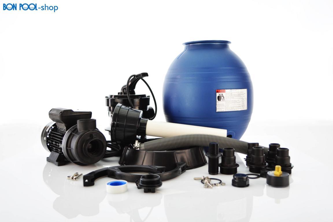 filteranlage mini pumpe ohne vorfilter ebay. Black Bedroom Furniture Sets. Home Design Ideas