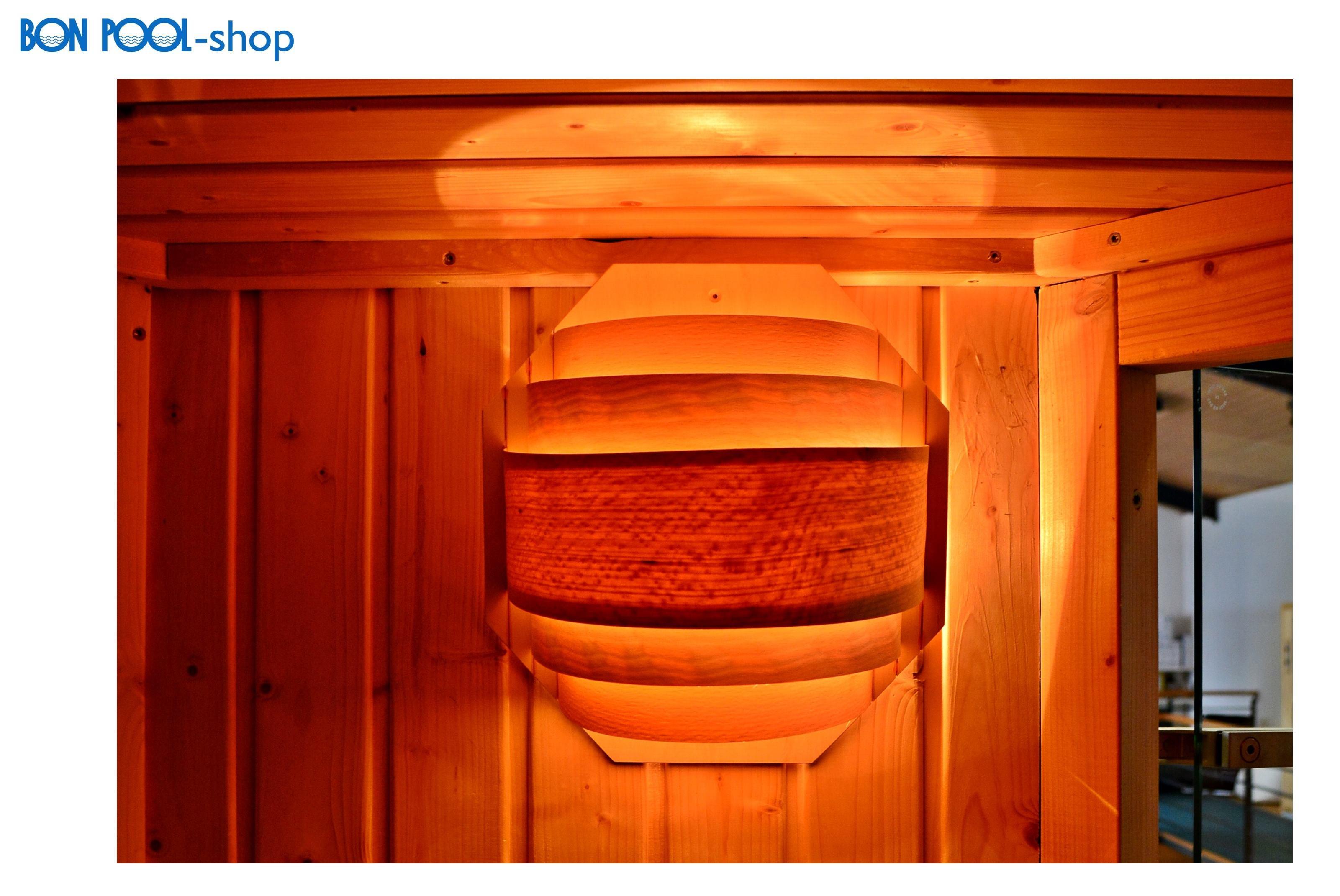 blendschirm sauna wandmontage saunalampe bon pool. Black Bedroom Furniture Sets. Home Design Ideas