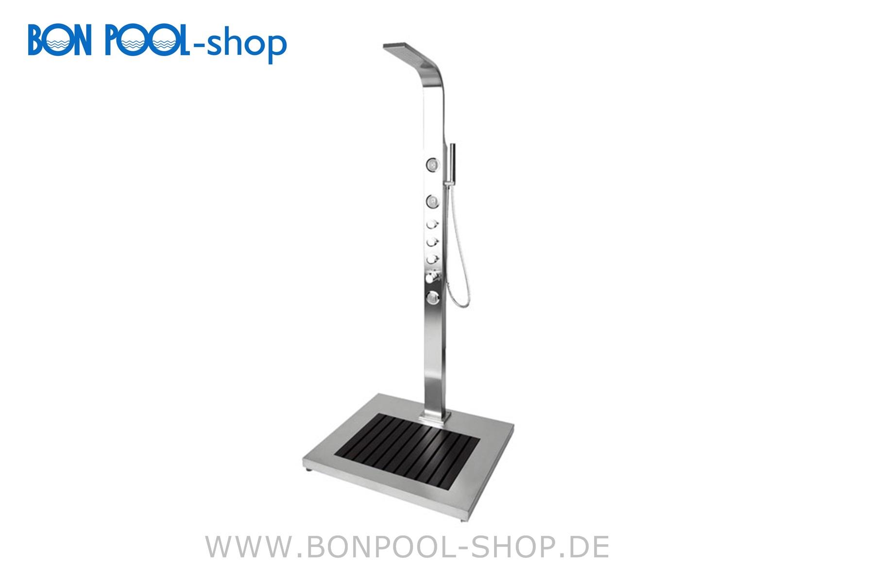 Dusche Garten Warmwasser : Kalt- & Warmwasser Garten Dusche Helena BON POOL