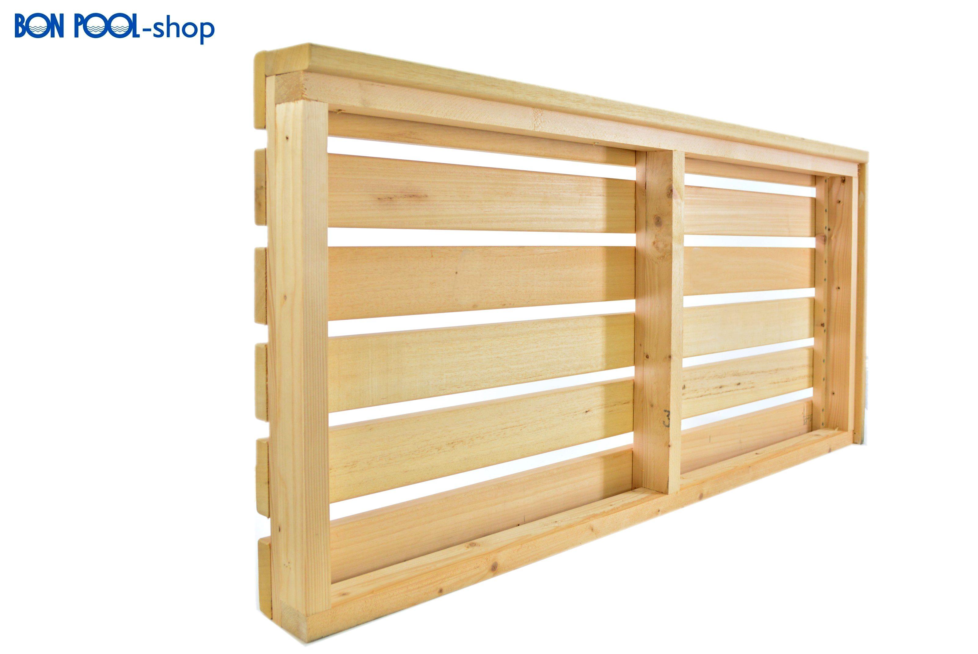 abachiholz saunabank saunaholz 1 cm bon pool. Black Bedroom Furniture Sets. Home Design Ideas