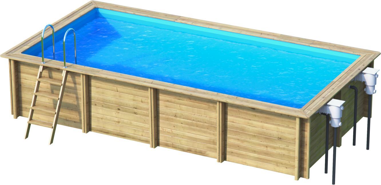 weva rechteckbecken 6x3 m holzpool bon pool. Black Bedroom Furniture Sets. Home Design Ideas