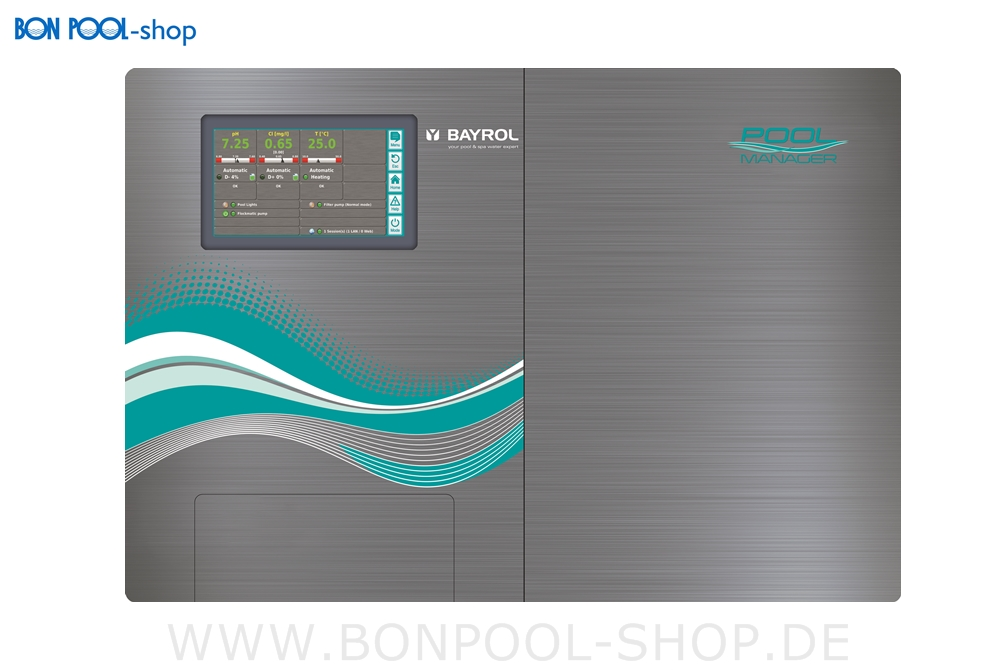 pool manager sauerstoff bon pool. Black Bedroom Furniture Sets. Home Design Ideas