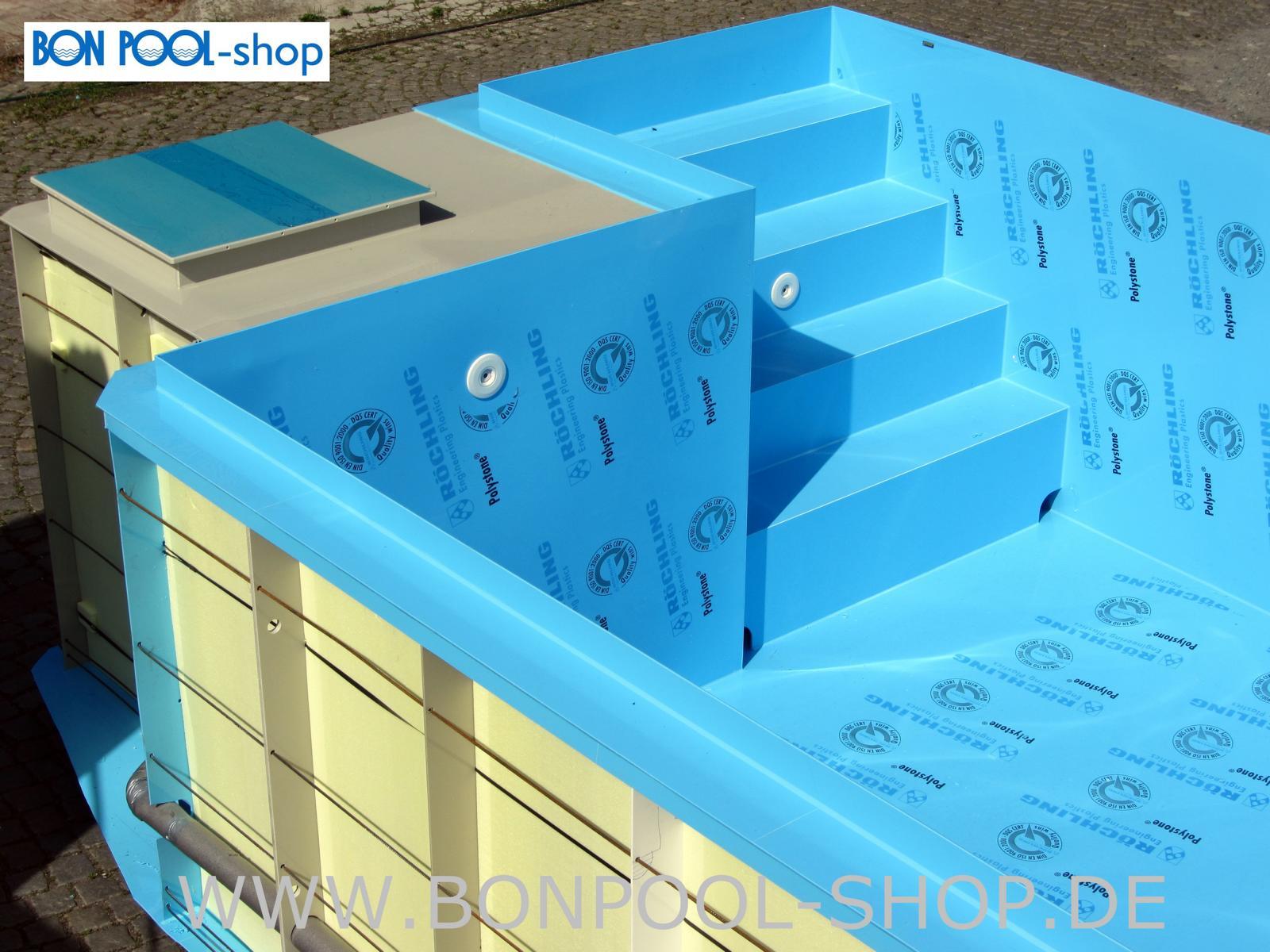 infinity pool set pp becken bon pool. Black Bedroom Furniture Sets. Home Design Ideas