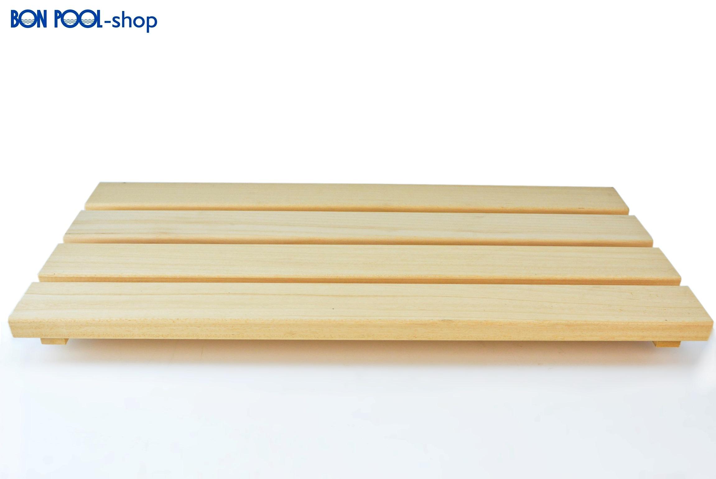 bodenrost abachi sauna weichholz 80x40 cm bon pool. Black Bedroom Furniture Sets. Home Design Ideas