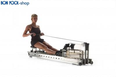 Waterrower Rudermaschine  S1 EDELSTAHL