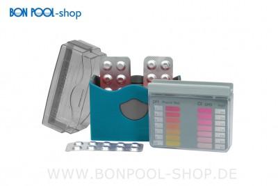 BON POOL Wasseranalyse Pooltester pH/O2 +Nachfüllpack