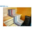 Liegetuch Sauna Wellness silber 80x200 BON POOL