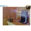Saunatuch anthrazit 80x200cm Handtuch Sauna BON POOL