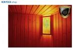 Salzkristalllampe Eigenherstellung Saunabeleuchtung doppelt BON POOL
