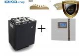 Saunaofen Bi-O-Thermat 7,5kW + Steuergerät BON POOL