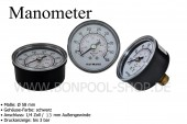 BON POOL  Manometer