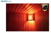 Salzkristalllampe Eigenherstellung Saunabeleuchtung BON POOL