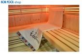 BON POOL Sauna Tuch Wellness natur 70x180cm