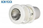 BON POOL Unterwasserscheinwerfer LED mit Panel und Folienflansch ABS weis