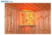 BON POOL Saunalampe Saunaleuchte Salzkristallleuchte Saunalicht Sauna Lampe