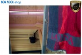 Saunatuch rot 80x200cm Handtuch Sauna BON POOL