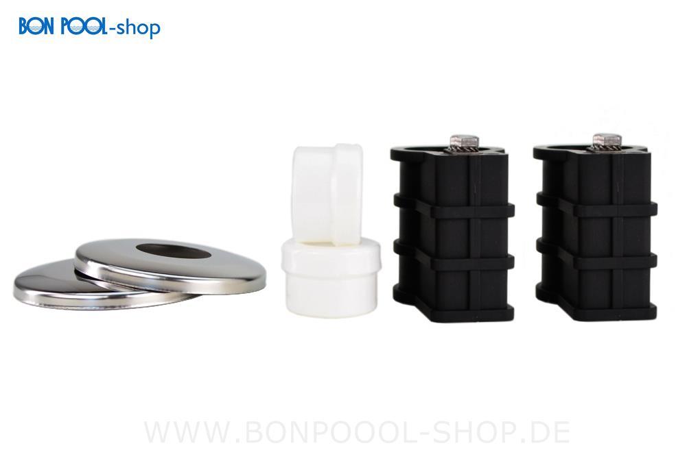 edelstahl poolleiter 3 stufig weite form bon pool. Black Bedroom Furniture Sets. Home Design Ideas