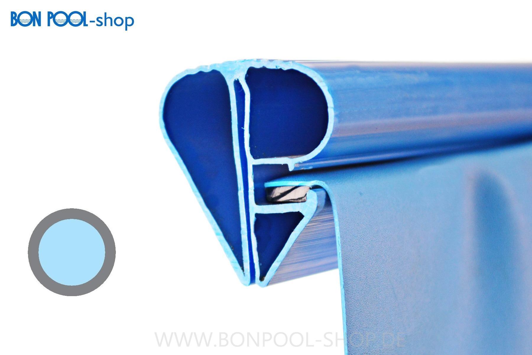 schwimmbecken ersatzfolie blau rund bise bon pool. Black Bedroom Furniture Sets. Home Design Ideas
