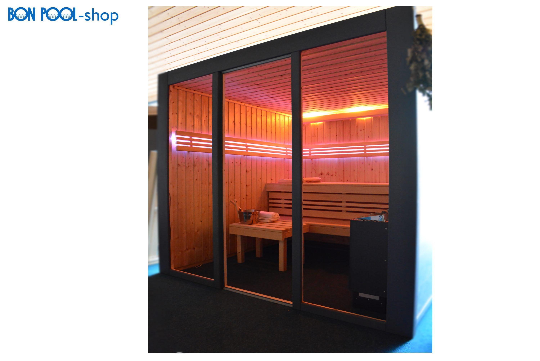 Saunahocker Saunasitz Saunabank Holzhocker BON POOL