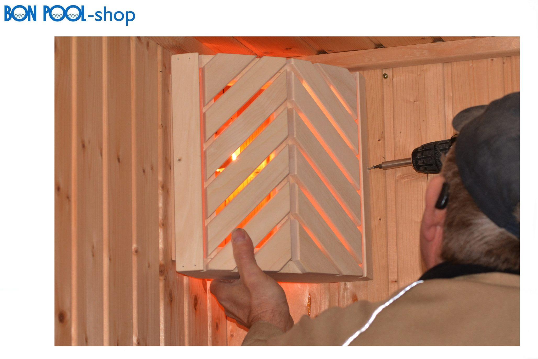 saunaleuchte espe sauna lampe blendschirm bon pool. Black Bedroom Furniture Sets. Home Design Ideas