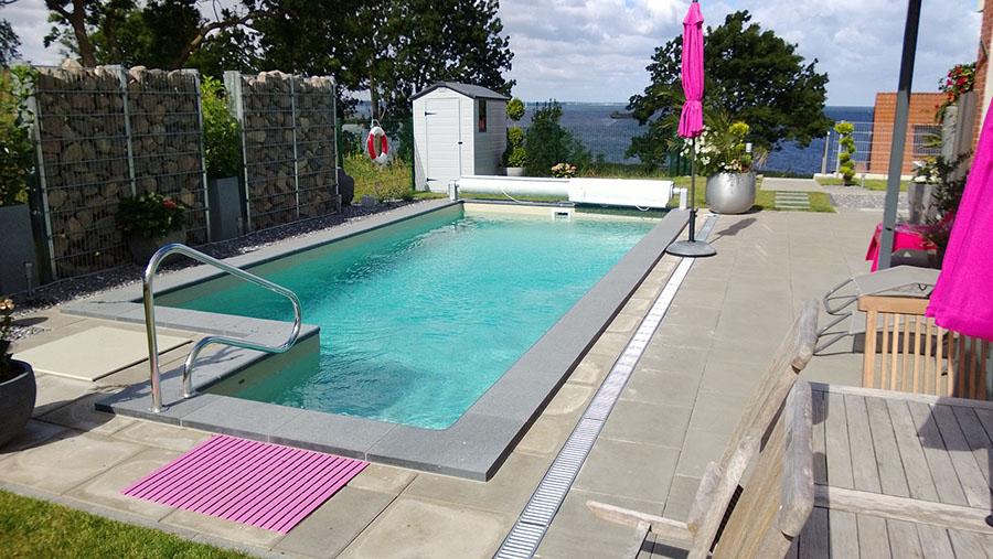 skimmer pool set 600x330x150bon pool. Black Bedroom Furniture Sets. Home Design Ideas