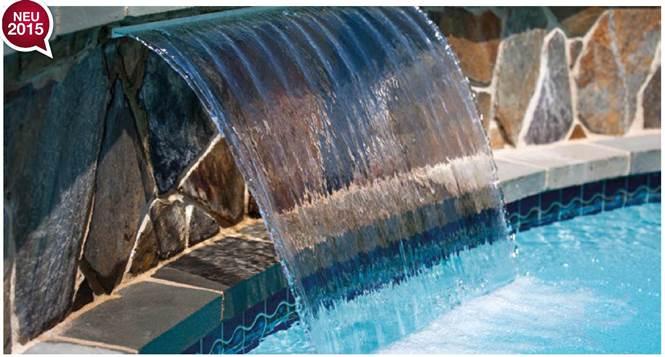 Schon Schwalldusche Wasserfall LED Beleuchtung
