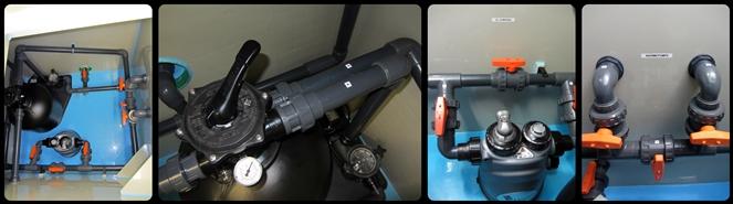 BON POOL  Winkel 90° PVC 40/50/50mm Reduziert